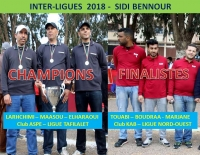 Ligue Tafilalt Championne Coupe Inter-Ligues 2018