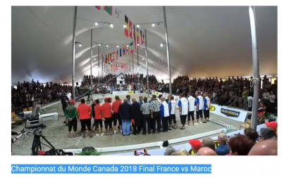 Championnat du Monde Canada 2018 Final France vs Maroc